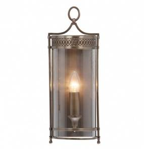 Kinkiet Guildhall GH/WB DB Elstead Lighting klasyczna oprawa ścienna w kolorze ciemnego brązu