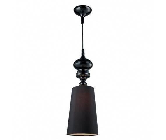 ŻARÓWKA LED GRATIS! Lampa wisząca Baroco AZ0064 AZzardo czarna oprawa w klasycznym stylu