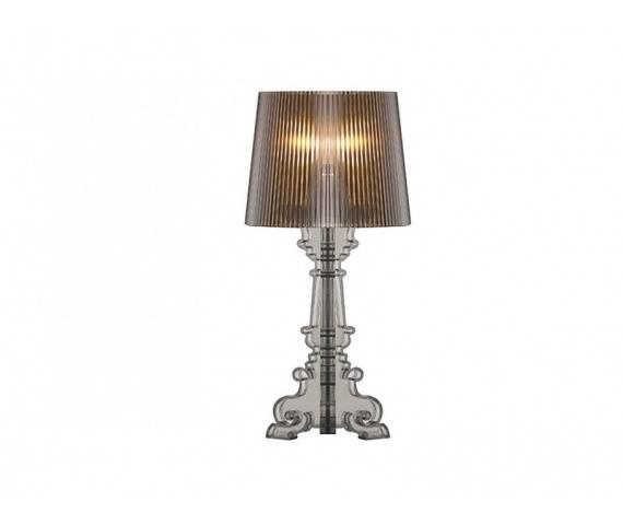 ŻARÓWKA LED GRATIS! Lampa stołowa Bella MA075S BK AZzardo czarna oprawa w stylu design