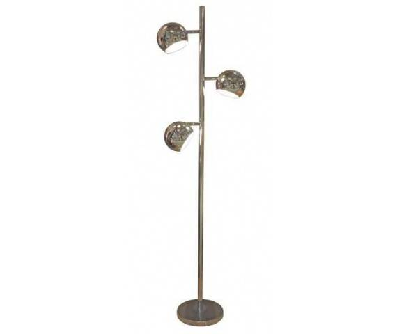 ŻARÓWKI LED GRATIS! Lampa podłogowa Trinton AZ0024 AZzardo chromowana oprawa w stylu design