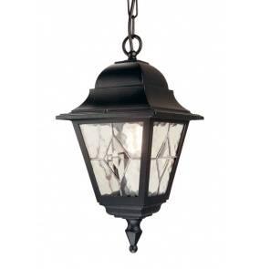 Lampa wisząca zewnętrzna Norfolk NR9 Elstead Lighting czarna oprawa w klasycznym stylu