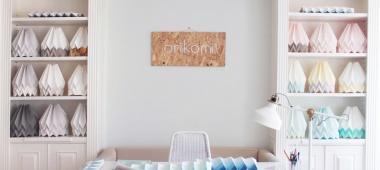 Orikomi - lampy z papieru