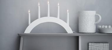 Lampy stołowe dla wielbicieli świec - nowe propozycje firmy Markslojd