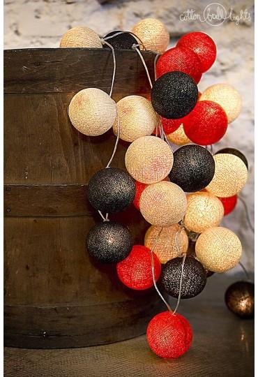 Kolorowe kulki - idealna dekoracja do każdego wnętrza