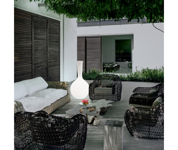 Zewnętrzne lampy stojące — ten sam ogród, nowy styl