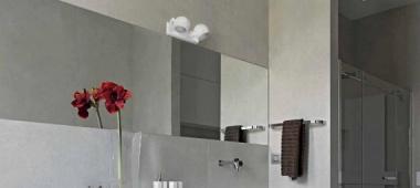 Oświetlenie łazienkowe - kinkiety nad lustro