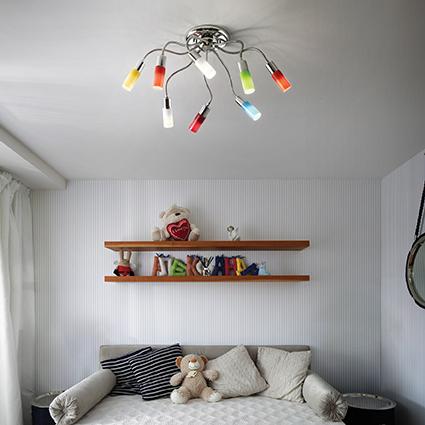 Oświetlenie pokoju dziecięcego - jak je dobrać?