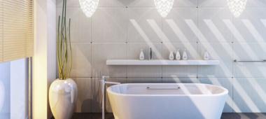 Oświetlenie do łazienki - jak wybrać funkcjonalne lampy?