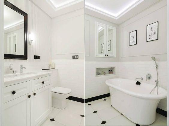 Komfortowe Oświetlenie W łazience