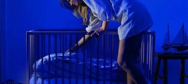 Oświetlenie do sypialni młodych rodziców